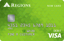 Check cashing made easy with the Regions Now card