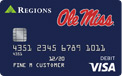 Ole Miss Checkcard