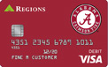 Tarjeta de cheques University of Alabama