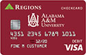 Tarjeta de cheques de Alabama A&M University