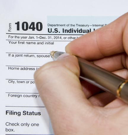 preparing to file your tax return